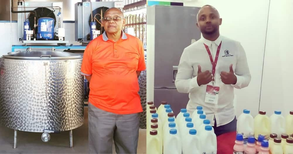 Dad and Son Goals: Stephen and Nkosana Mtimkulu Start a Dairy Company