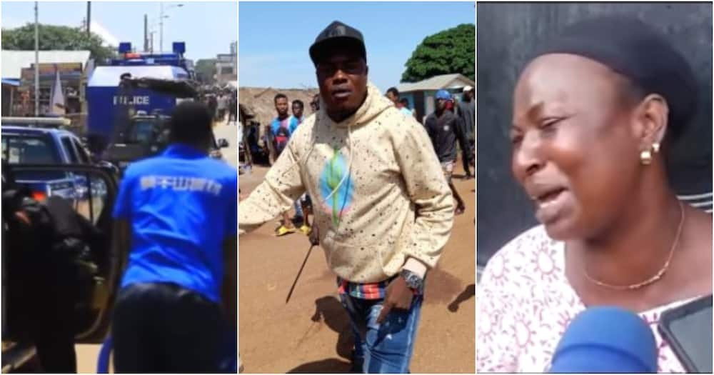 Ejura clash: We need justice - Sister of man shot dead by military in Kaaka murder protest speaks