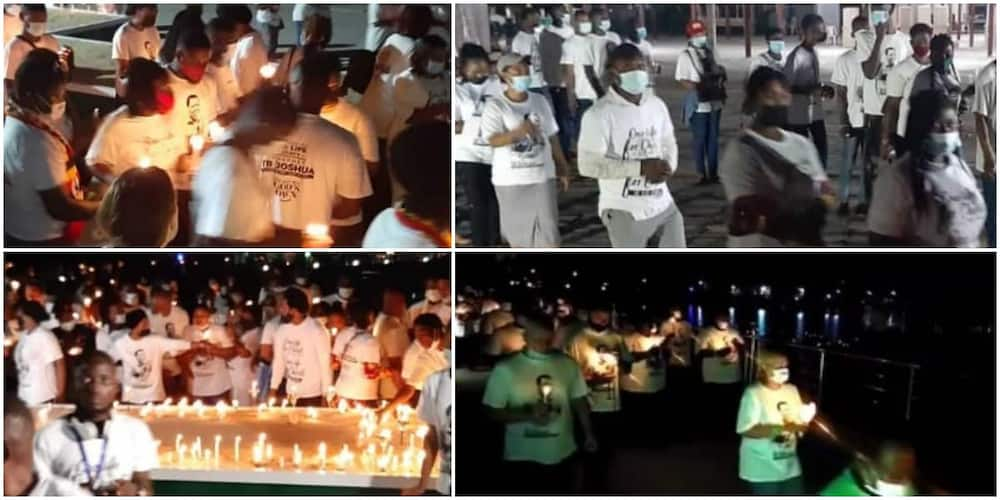 Over 5000 faithfuls comprising locals and foreigners do procession for late TB Joshua as photos, video emerge