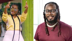 Wendy Shay shares a photo of a response from American rapper T-Pain after he initially ignored her