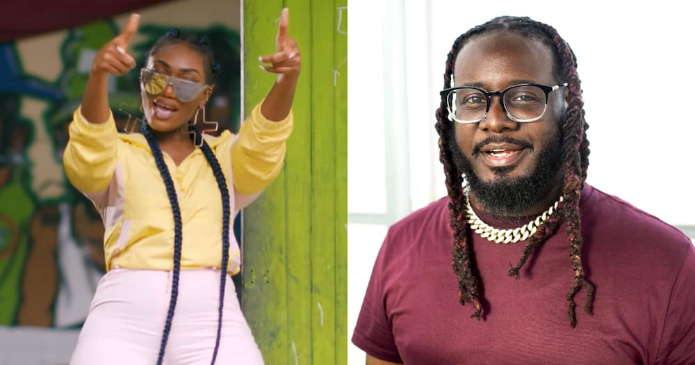 Wendy Shay shares of response from American rapper after he initially ignored her