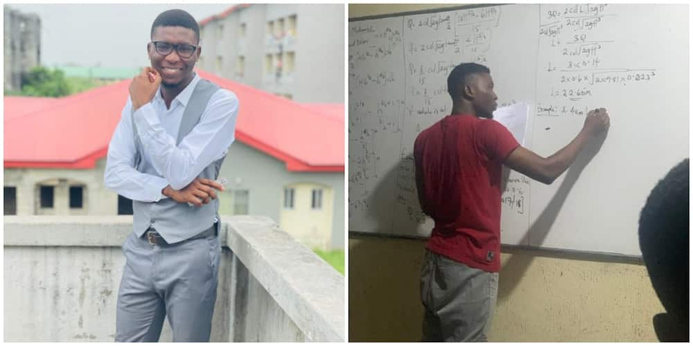 We Rise by Lifting Others: Nigerians Praise Young Student who Organized Free Tutorials for His Colleagues