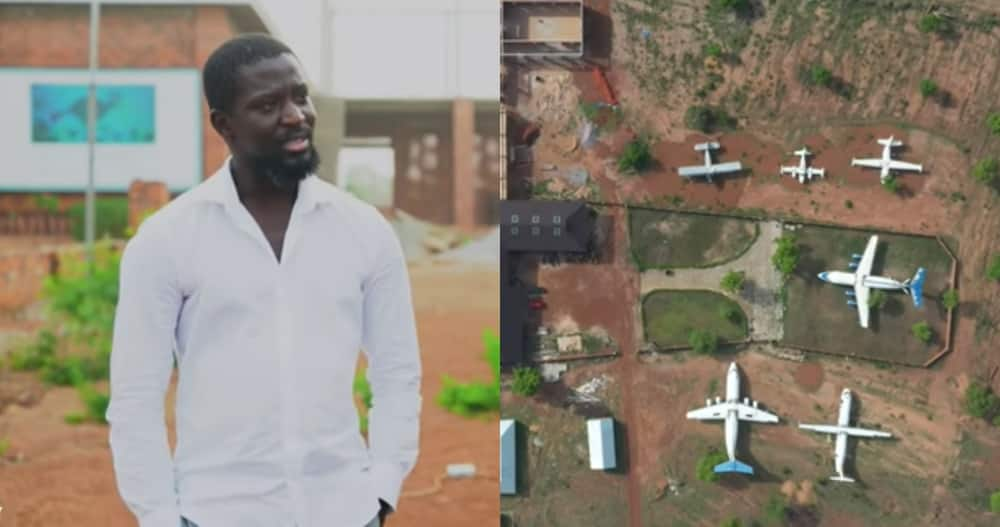 Ibrahim Mahama: Artist from Tamale sold one of his works for GHc 5.8 million & has 6 Aircrafts