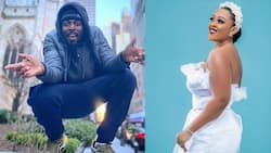 Kwaw Kese gushes as his beautiful wife shows off her fine skin in a mini-dress in new photo