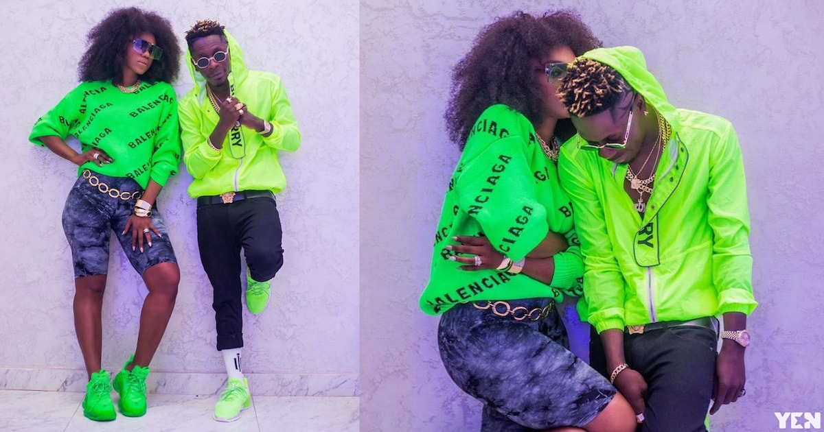 Shatta Wale and Becca share beautiful photos from their music video shoot in Mauiritius