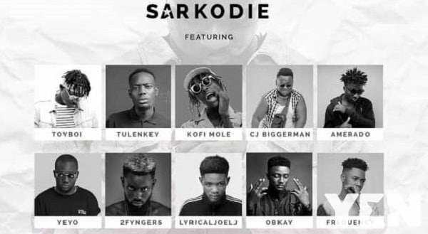 """Ranked from best to last - The rappers on Sarkodie's """"Biibi Ba"""" hit song"""