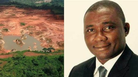 There is nothing wrong in mining in forest - NPP's George Mireku Duker