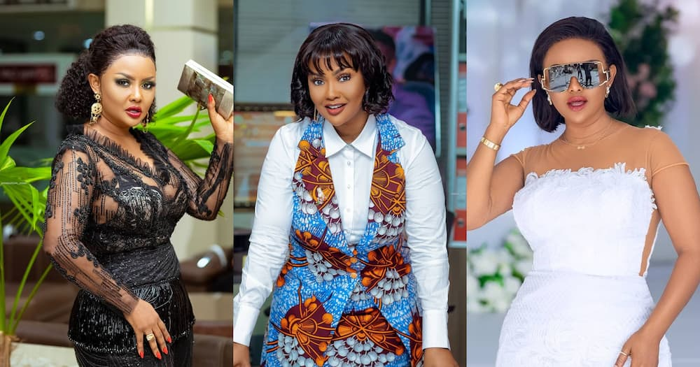 Nana Ama McBrown Alleged Divorce Threat: Fans says Actress has been Crying as new photo drops