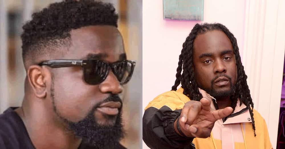 """Sarkodie jabs """"dumb"""" Twitter fan who tried disrespecting his new 'bestie' Wale's career"""