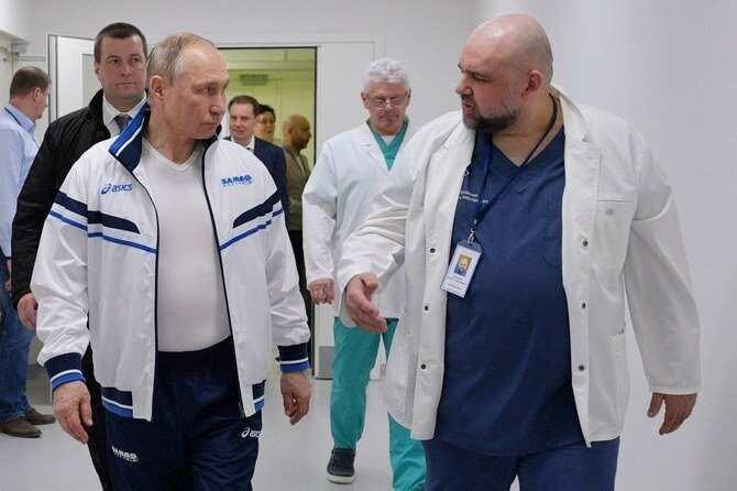 Coronavirus: Russian doctor who met President Putin last week tests positive for COVID-19