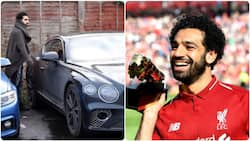Here's what Mohamed Salah's exotic car garage looks like after acquiring £160k Bentley