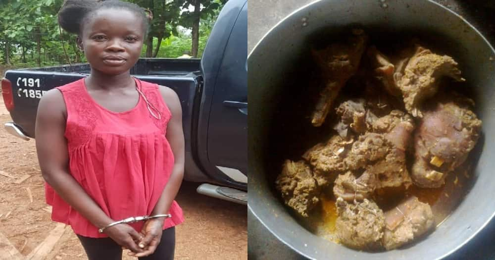 27-yr-old lady stabs boyfriend to death over refusal to give her 'Akranti3 nkwan'