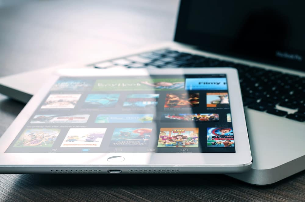 Movies on tablet