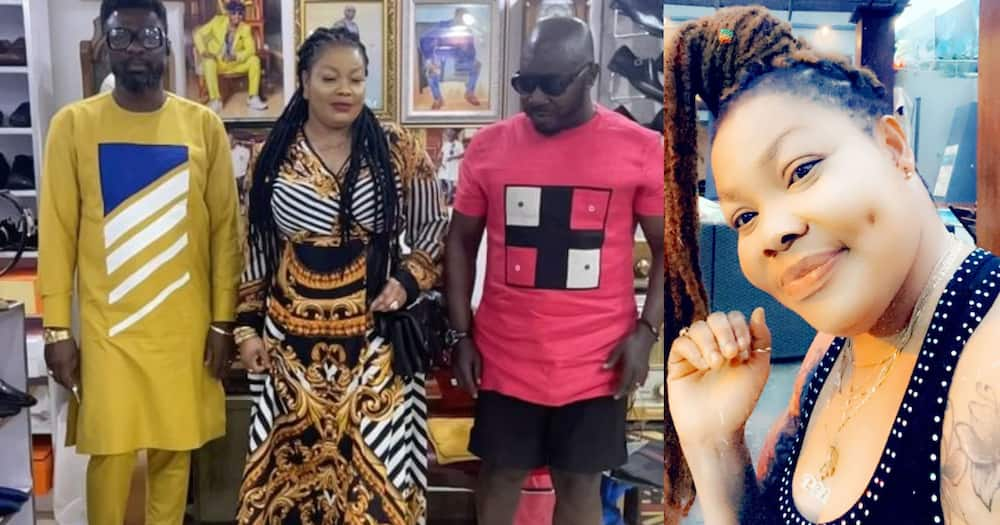Nana Agradaa Released From Cells; Goes Shopping At Osebo's Boutique (Video)