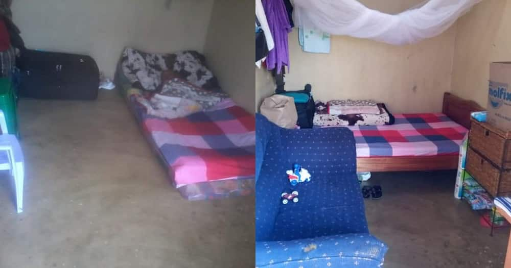 Single Mum Who Slept on Floor After Leaving Toxic Marriage Shows Off Furnished Bedsitter