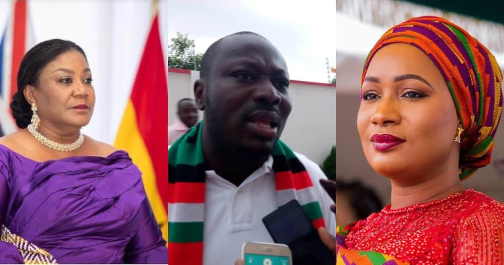 NDC Youth; Paying Rebecca and Samira is an attack on Ghana's constitution