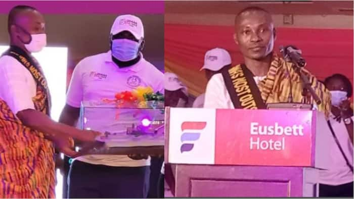 Ebenezer Otoo wins 2021 Most Outstanding Teacher; takes home GHc250K for 3-bedroom house