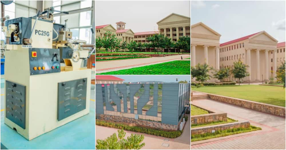 Academic City: Beautiful photos of Ghana's 1st university to offer degree in robotics engineering pop up