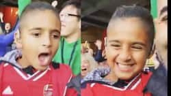 See heart-warming moment young blind Arsenal fan went wild in jubilation in victory over Aston Villa (video)