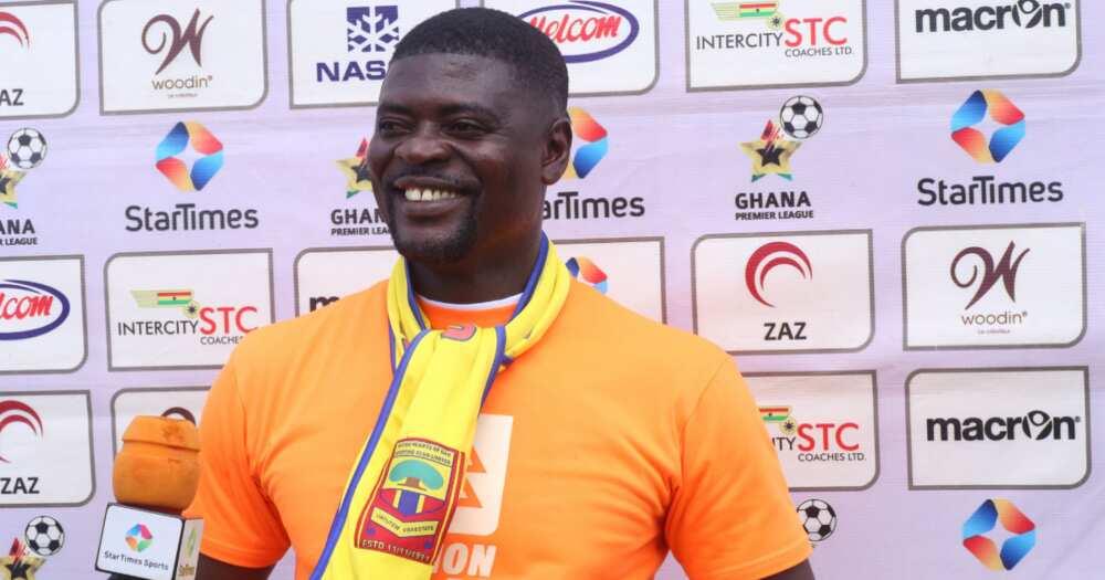 Hearts of Oak coach Samuel Boadu wins back to back coach of the month award