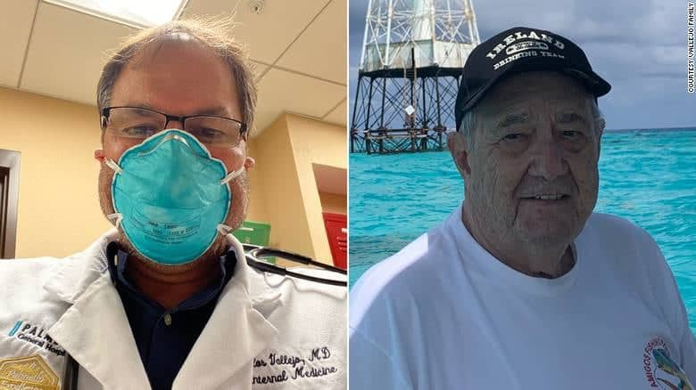 Coronavirus claims father and son doctors just weeks apart in Florida