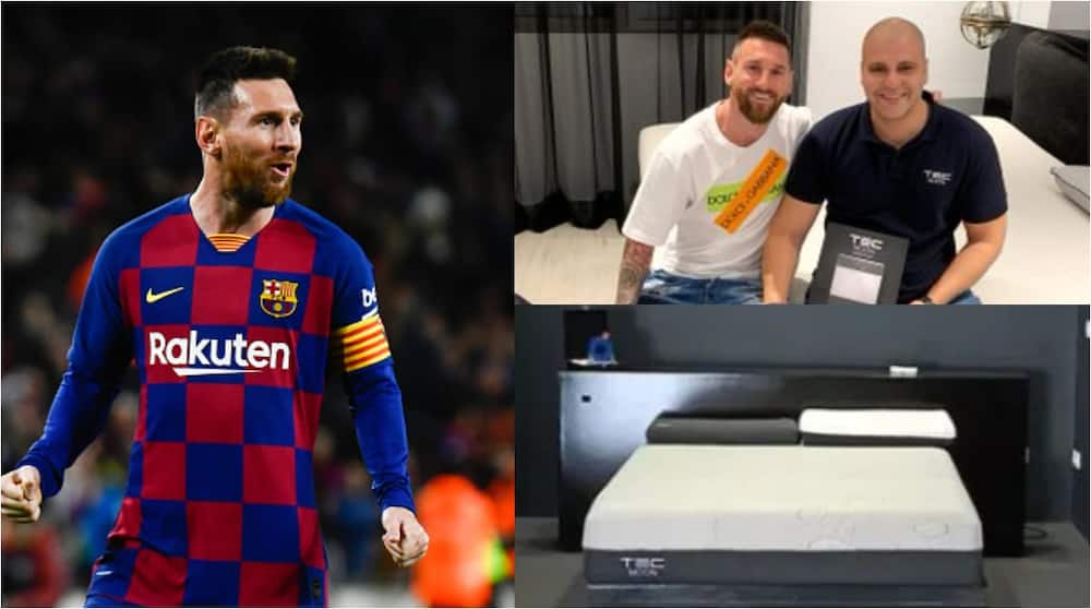Lionel Messi sleeps on £900 mattress to prevent him from contracting COVID-19. Photo Credit: Getty Images