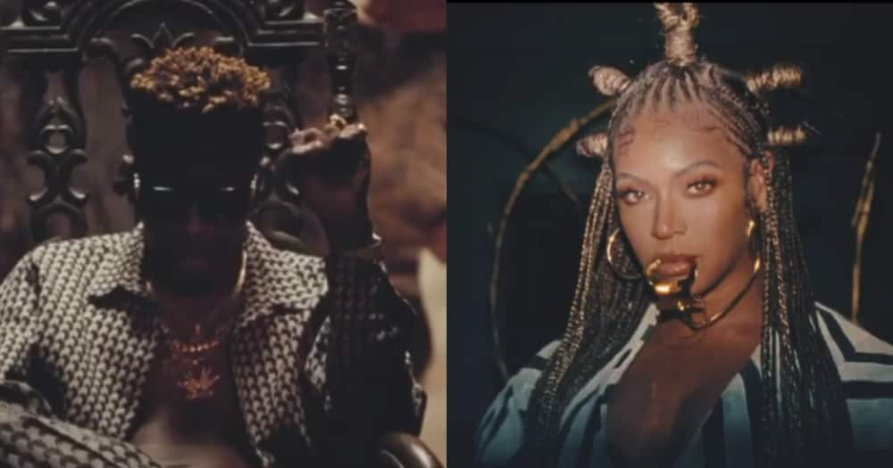 Shatta Wale and Beyoncé's Black Is King film