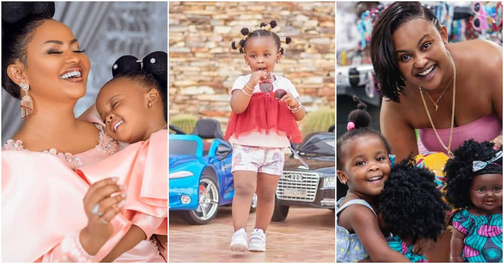 McBrown's daughter Baby Maxin's cars