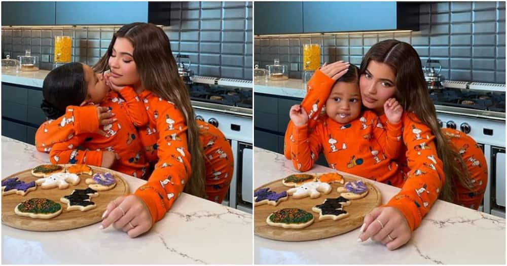 Kylie Jenner and Stormi melt hearts whilst baking up a storm