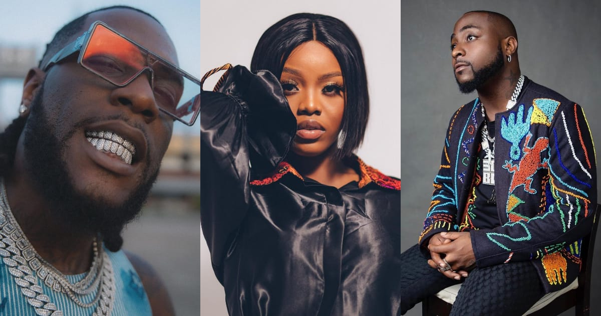 Gyakie ranks ahead of Davido, Burna Boy in the latest UK Afrobeats chart ranking