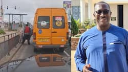 Go & fetch my urine - Trotro driver peeing by roadside in video tells Citi TV MD upon questioning