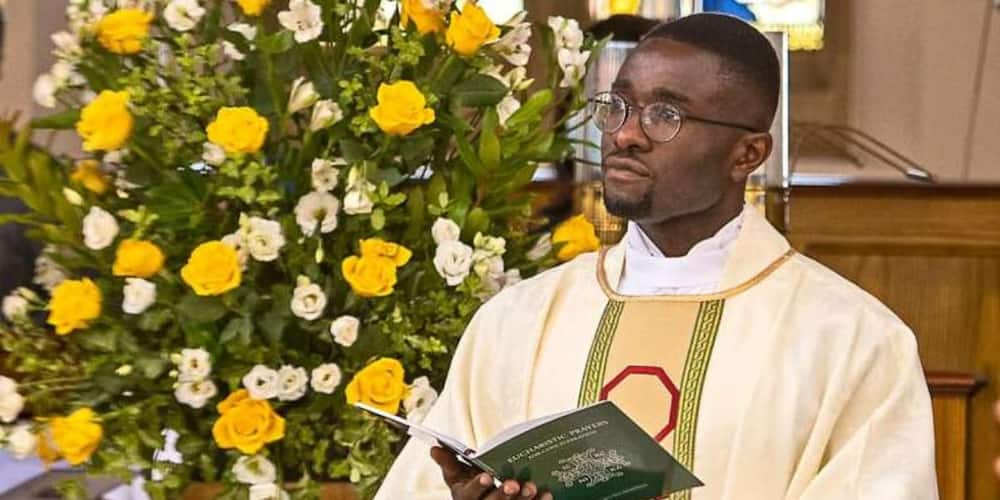 Young Catholic who greeted Benedict XVI in Britain becomes a priest