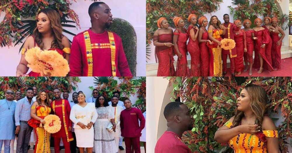 SP Kofi Sarpong other stars spray Joe Mettle with cash as he battles wife on the dancefloor (video)