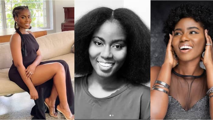 Natural Girl: MzVee shows off her natural beauty in new no-makeup photos; gets Ghanaians talking