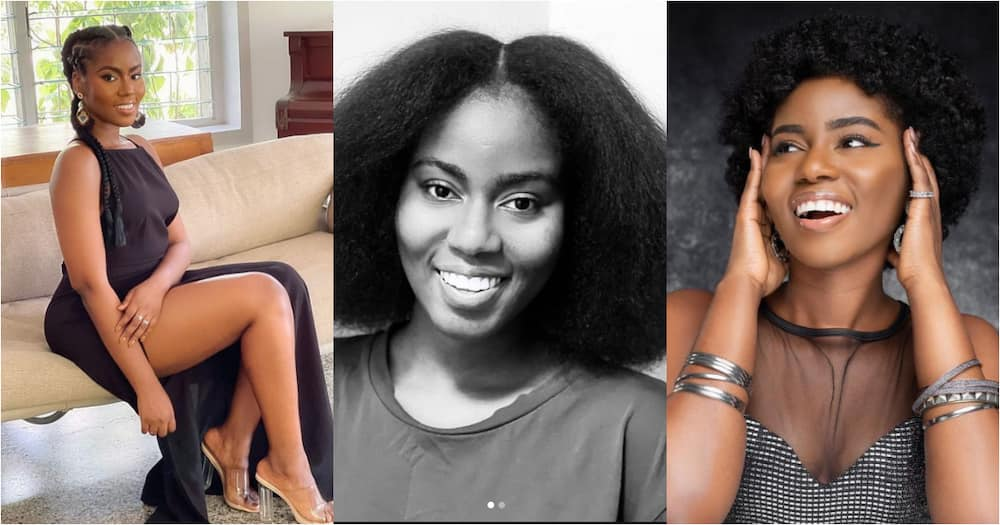 MzVee Flaunts her Natural Beauty in No-Makeup Photos; Gets Ghanaians Talking