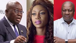 4 more for more dumsor - Yvonne Nelson jabs Akufo-Addo; NPP supporters attack her