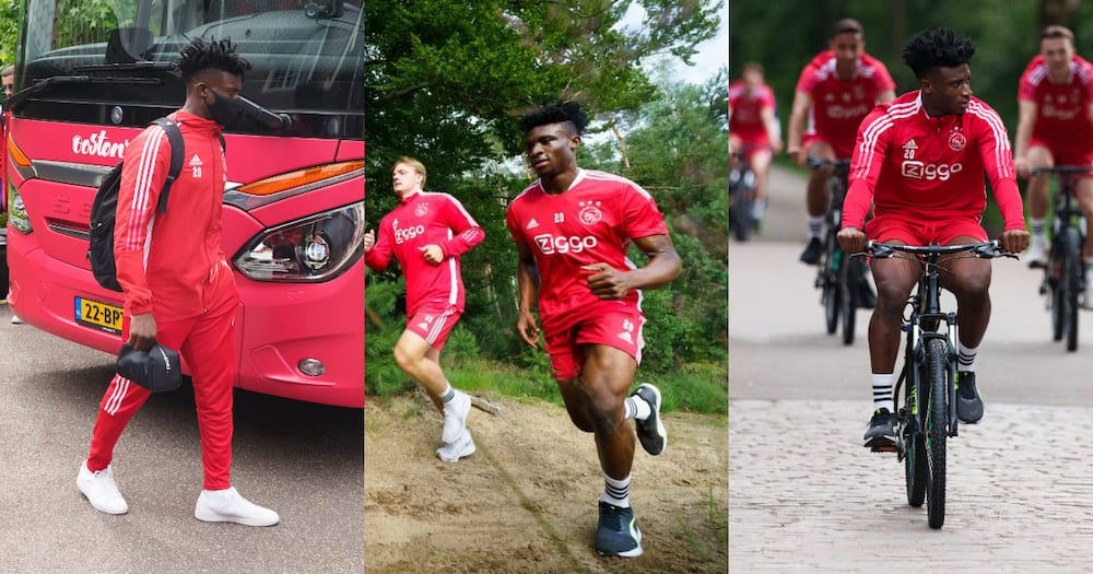 Mohammed Kudus to return to Ajax action in three weeks - Ajax coach Ten Hag