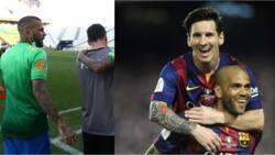Barcelona legends Lionel Messi and Davi Alves reunite despite Brazil vs Argentina fracas