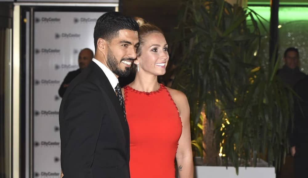 Luis Suarez: Barca star renews wedding vows with wife Sofia in colourful ceremony graced by Messi