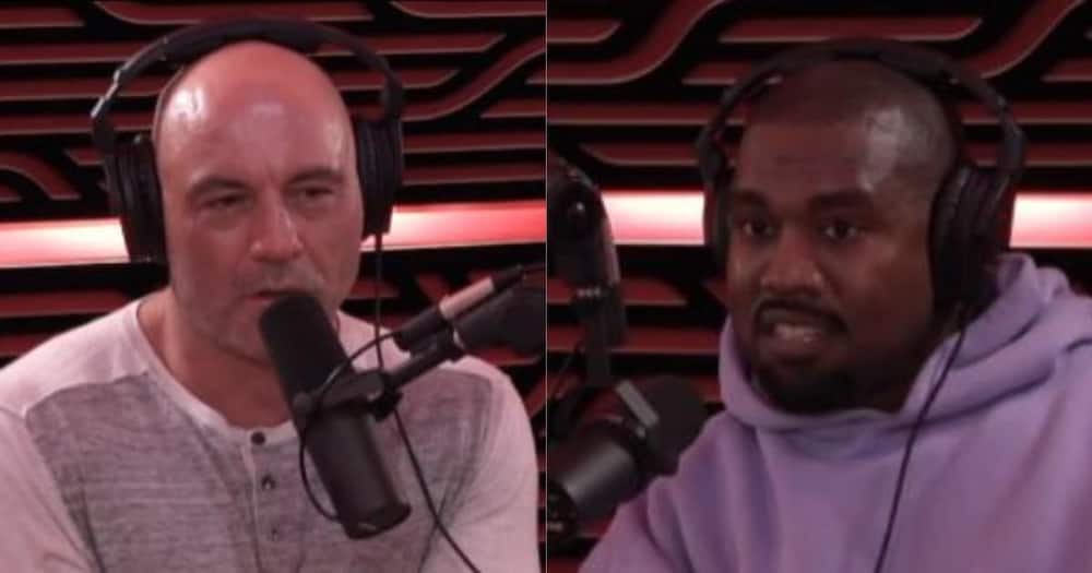 Kanye West appeared on the Joe Rogan podcast where he revealed his motivations for running for president.Photo credit: YouTube/PowerfulJRE