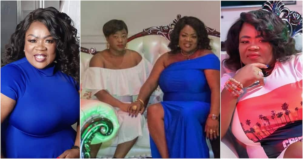 Mercy Asiedu: Kumawood actress' only daughter pops up in new photo