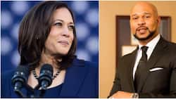 Newly sworn-in NBA President in US receives live congratulatory message from Kamala Harris