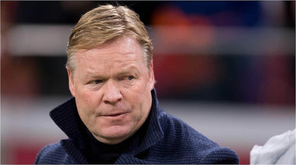 Ronald Koeman: Barcelona reportedly choose Holland national team manager as Setien's replacement