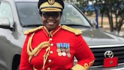 Ghana's first female general grabs continental position; set to fly to disputed territory