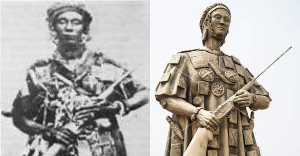 """Famous """"Yaa Asantewaa"""" picture reportedly a photo of an American Arts student"""