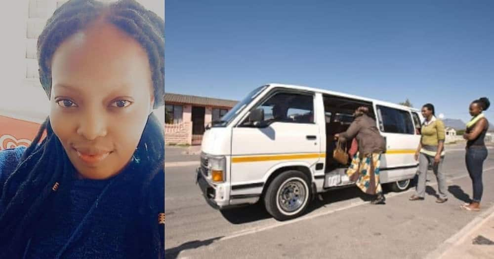 Kind taxi driver pays struggling woman's fare, inspires Mzansi Pls export