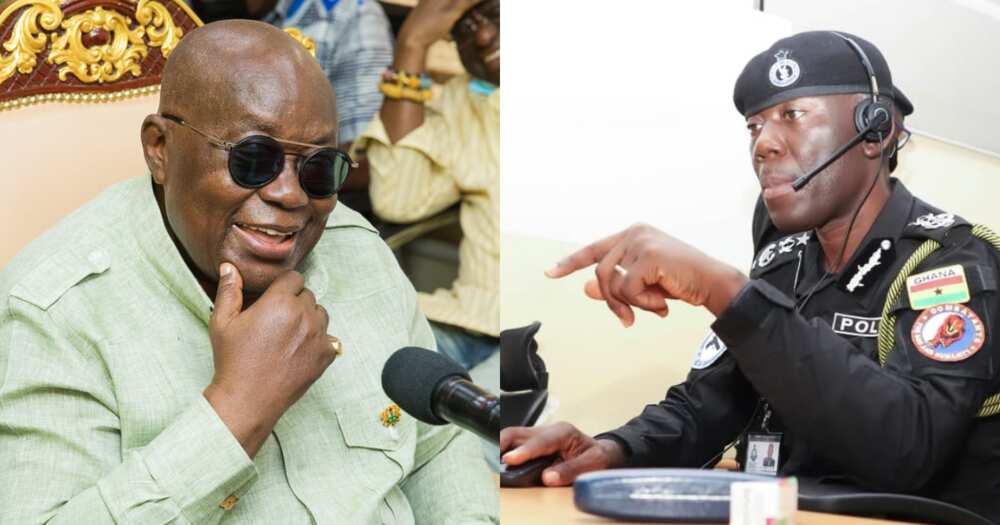 President Nana Addo Dankwa Akufo says he will confirm George Akuffo Dampare as IGP