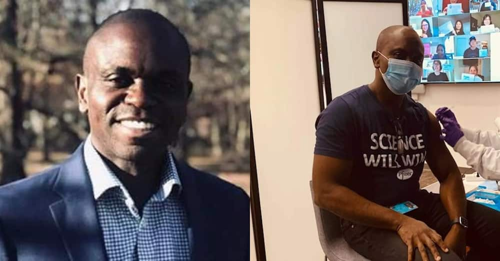Paul Mensah: Ghanaian engineer leads team in US to make COVID-19 vaccine that's 95% effective
