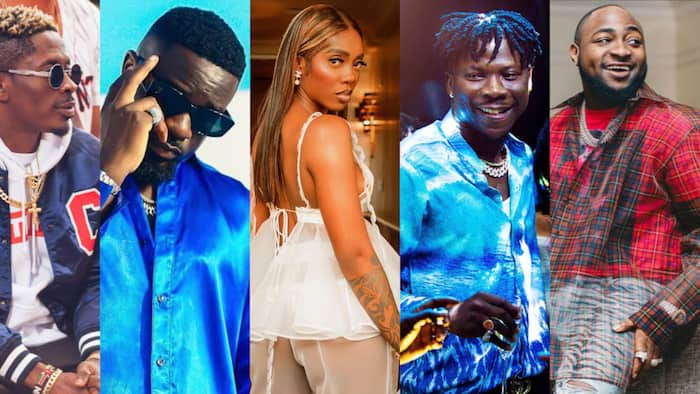 Sarkodie, Shatta Wale, Davido, Stonebwoy, and 11 other top African musicians and their first record label/deal