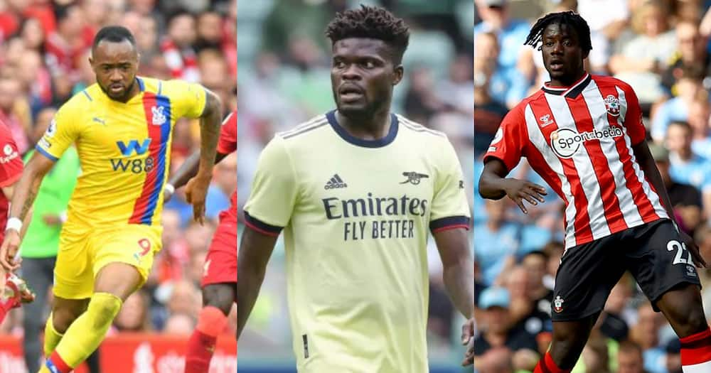 Partey, Salisu grab valuable points as Ayew's Crystal Palace suffer defeat in EPL
